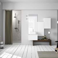 красивый белый пол в дизайне спальни картинка