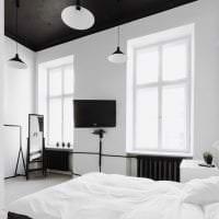 светлый белый пол в дизайне квартиры фото