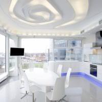 светлый белый пол в стиле коридора картинка