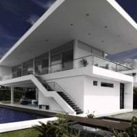 красивый интерьер дома в архитектурном стиле фото