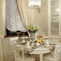 светлый декор квартиры в французском стиле фото