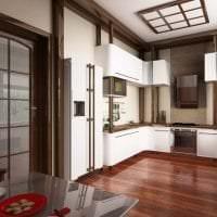 красивый стиль кухни в японском стиле картинка