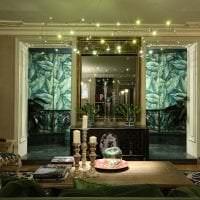 светлый стиль коридора в стиле эклектика картинка