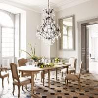светлый декор прихожей в французском стиле фото