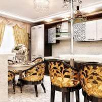 шикарный дизайн комнаты в стиле деко арт картинка