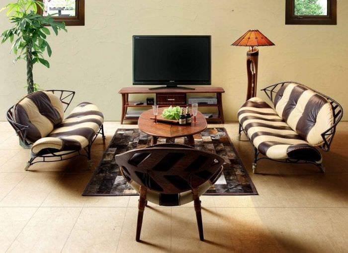 Африканский стиль в интерьере: 75 привлекательных вариантов