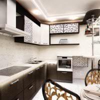 светлый стиль дома в стиле деко арт картинка