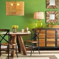 светлый эко дизайн комнаты фото