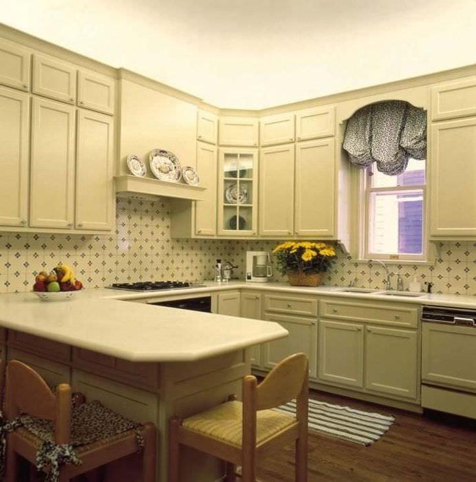 этом отношении фартук для классической кухни фото этого оттенка элементах
