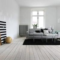 красивый дизайн квартиры в белых тонах фото