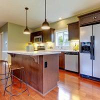 яркий дизайн квартиры в американском стиле картинка