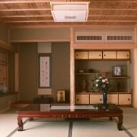 красивый декор кухни в японском стиле картинка