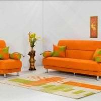 светлый терракотовый цвет в дизайне коридора фото