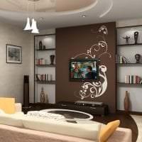 красивый угловой диван в интерьере прихожей картинка