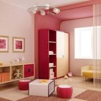 яркая прихожая комната дизайн фото