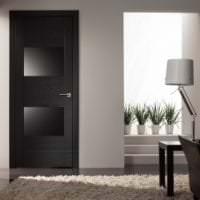 светлые двери в стиле прихожей фото