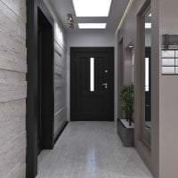 темные двери в стиле дома из ореха фото
