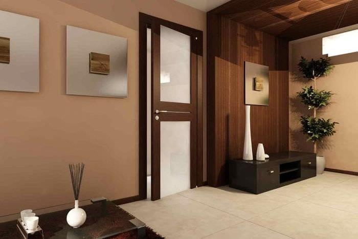 светлые двери в дизайне кухни