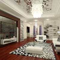 светлый декор спальни в стиле эклектика картинка