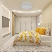 маленький шкаф в дизайне коридора картинка