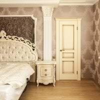 яркие двери в стиле с оттенком шоколадного картинка
