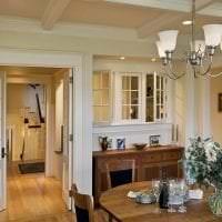 белые двери в стиле с оттенком темного картинка