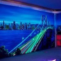 светлые фотообои с самолетами в коридор картинка