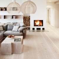красивый белый дуб в стиле коридора картинка