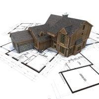 яркий дизайн загородного дома в архитектурном стиле фото