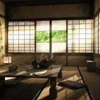 светлый стиль квартиры в японском стиле фото