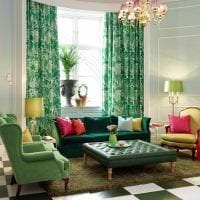 необычный декор квартиры в цвете фуксия картинка