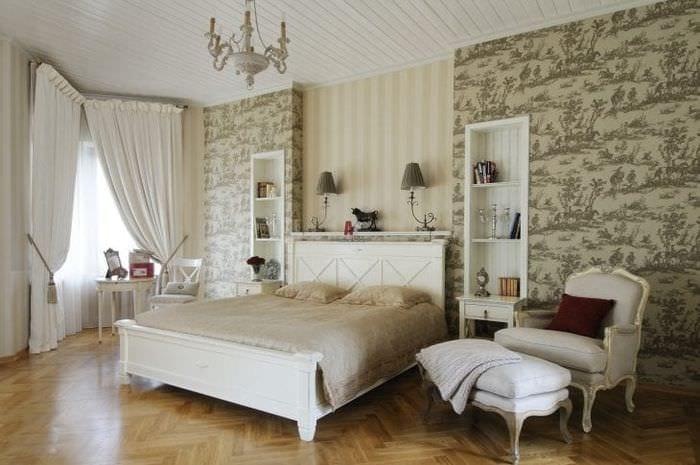 красивый дизайн квартиры в французском стиле