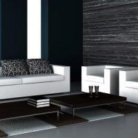 белый диван в дизайне прихожей фото
