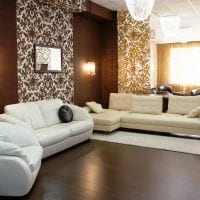светлый диван в дизайне коридора картинка