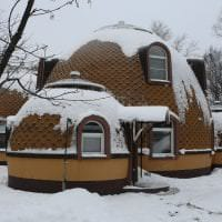 необычный декор дома в архитектурном стиле картинка