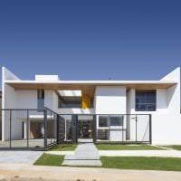 красивый стиль дома в архитектурном стиле фото