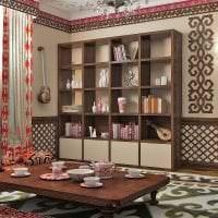 красивый декор квартиры в этническом стиле картинка