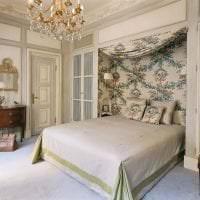 яркий дизайн прихожей в французском стиле картинка