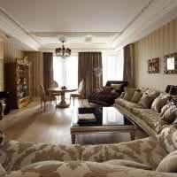 красивый стиль квартиры в стиле деко арт картинка