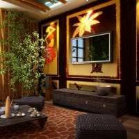 яркий стиль коридора в африканском стиле фото