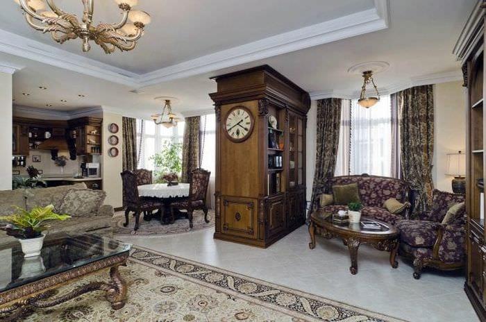 шикарный интерьер дома в американском стиле