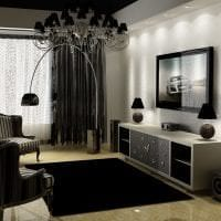 красивый интерьер комнаты в белых тонах картинка