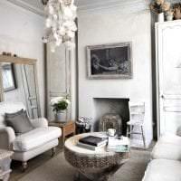 яркий интерьер комнаты в стиле шебби шик фото