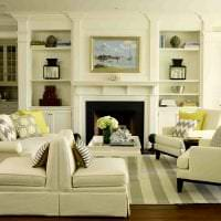 яркий стиль дома в американском стиле фото