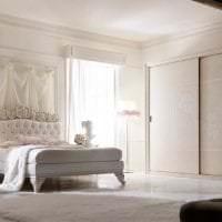 светлый декор спальни в французском стиле фото