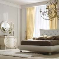 светлый интерьер комнаты в стиле арт деко фото