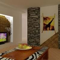 красивый стиль квартиры в африканском стиле картинка
