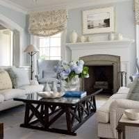 яркий стиль квартиры в цвете кофе с молоком фото