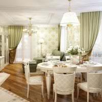 красивый декор коридора в французском стиле картинка