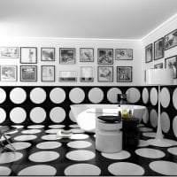 яркий интерьер спальни в белых тонах фото